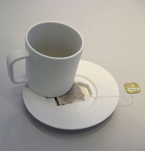 Tea bag coffin